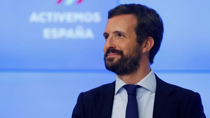 """Casado reprocha al Gobierno su """"incompetencia"""" en la vuelta  al cole: """"Ninguna familia sabe qué va a ser de sus hijos"""""""