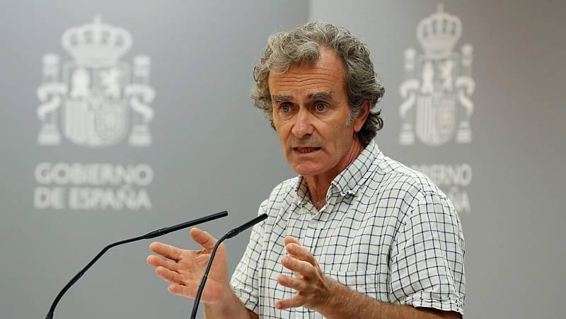 Simón alerta de que un tercio de los casos de coronavirus notificados los últimos días corresponden a la Comunidad de Madrid