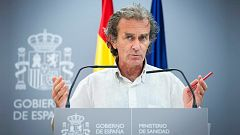 Especial informativo - Coronavirus. Comparecencia de Fernando Simón - 20/08/20