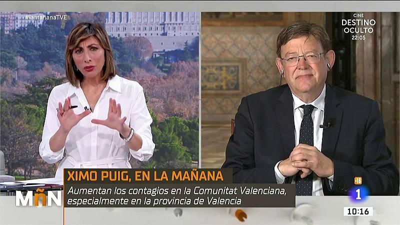 """Ximo Puig, presidente de la Comunitat Valenciana: """"No parece razonable un nuevo parón de la economía, tenemos que aprender a convivir con el virus"""""""