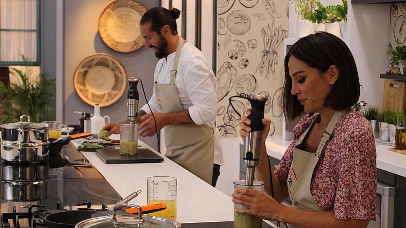 Cocina al punto con Peña y Tamara - Cogollos de Tudela y Calabacín - ver ahora