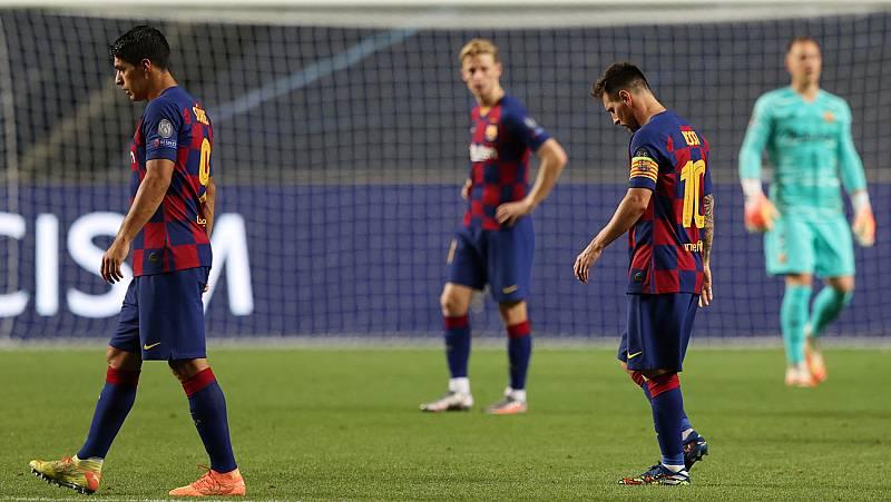 Leo Messi sigue meditando su futuro junto a Luis Suárez y Jordi Alba