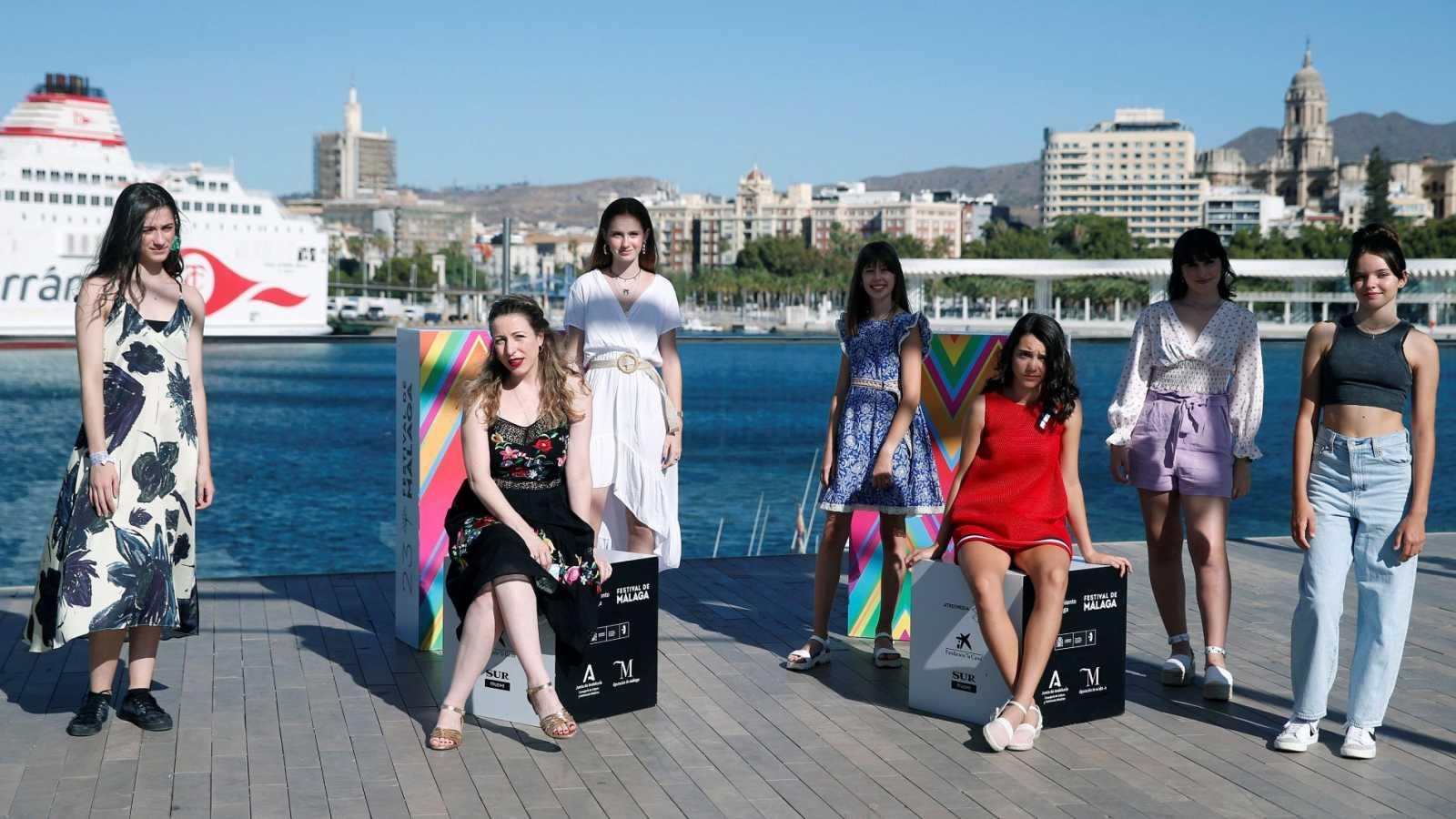 La directora Pilar Palomero presenta 'Las niñas' en el Festival de Málaga de Cine Español