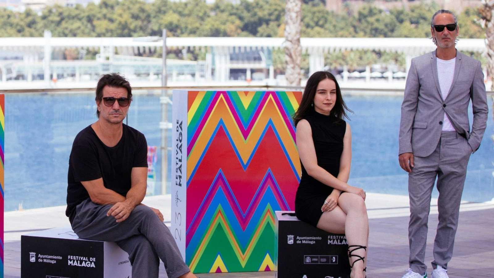Achero Mañas presenta en Málaga su nueva película como director: 'Un mundo normal'