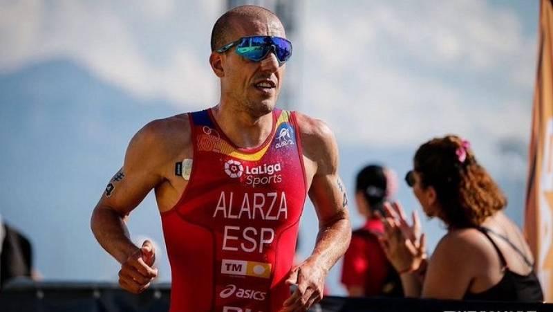 Fernando Alarza y Anna Godoy, campeones de España de Triatlón Sprint en Pontevedra