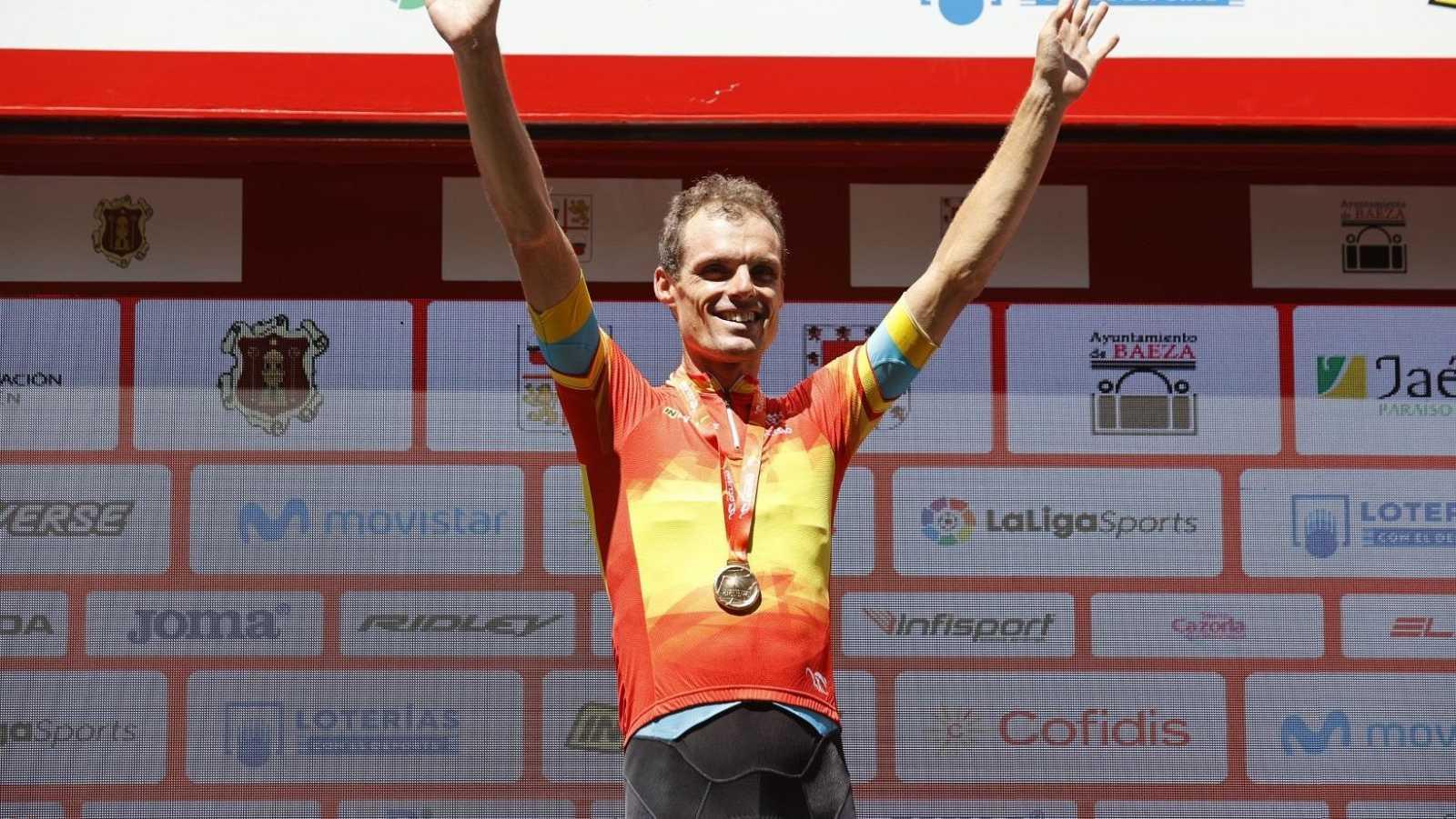 Luis León Sánchez, campeón de España de ciclismo en ruta