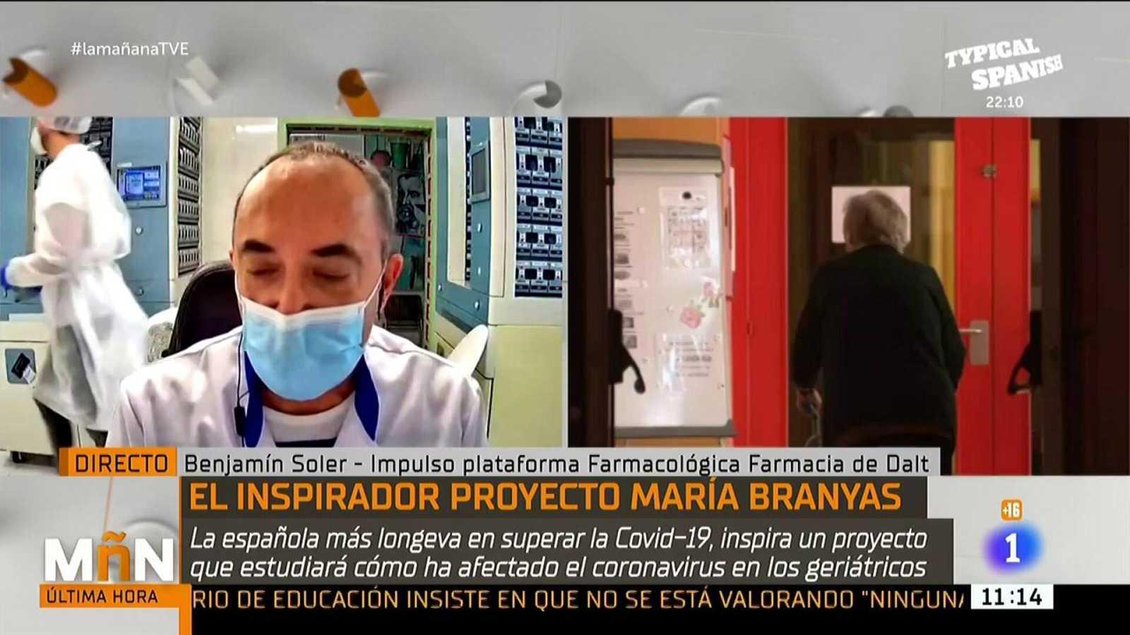 La Mañana - El proyecto María Branyas: un estudio para saber cómo ha afectado la Covid-19 en los geriátricos
