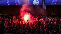 La alegría en Múnich por la sexta Champions contrasta con la tristeza y los altercados en París
