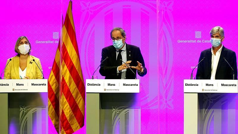Cataluña prohíbe las reuniones de más de diez personas y hará medio millón de test en las aulas