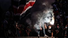 Disturbios en París provocados por los hinchas más radicales del PSG