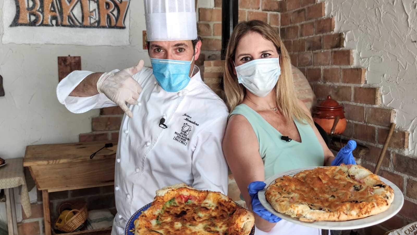 La pizza más esponjosa, de Jesús Monedero