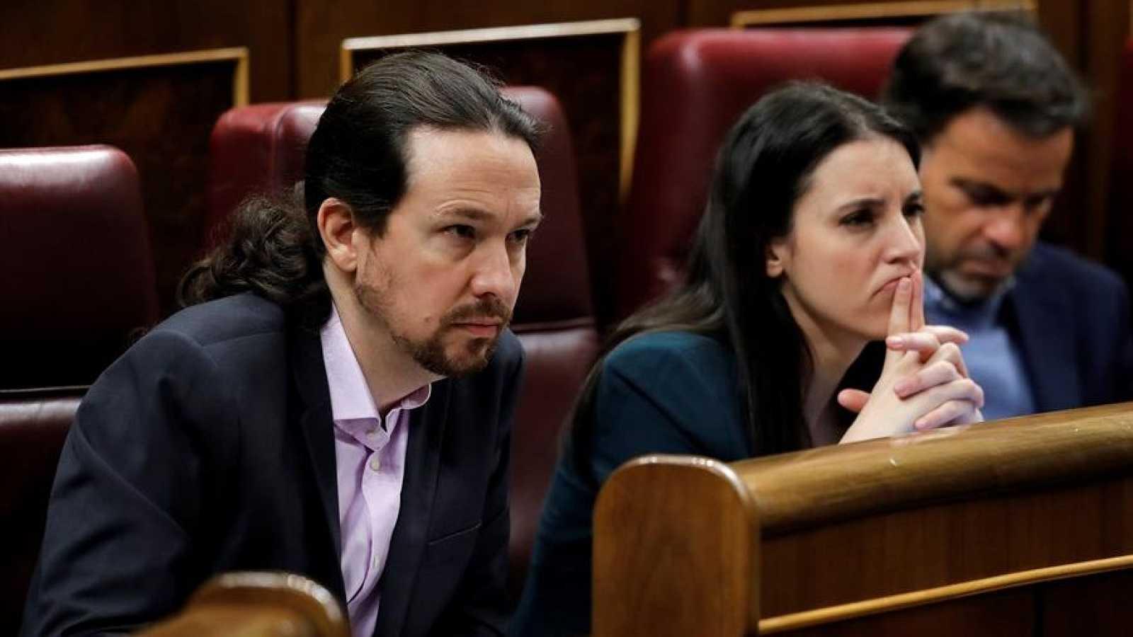 Iglesias y Montero presentan denuncias por amenazas contra sus hijos y ataques a su casa
