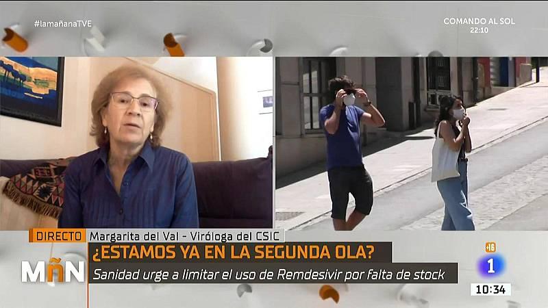 """La Mañana - Margarita del Val, viróloga del CSIC: """"No nos podemos hacer trampas a nosotros mismos"""""""