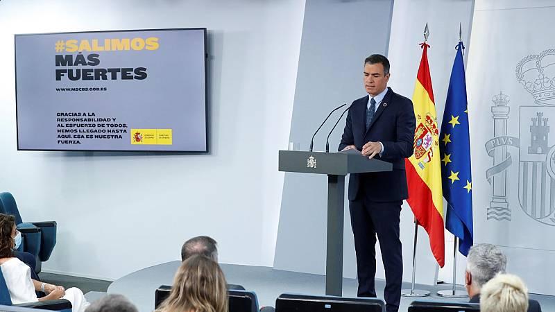 """Sánchez: """"Tengo una opinión positiva del gobierno de coalición"""""""
