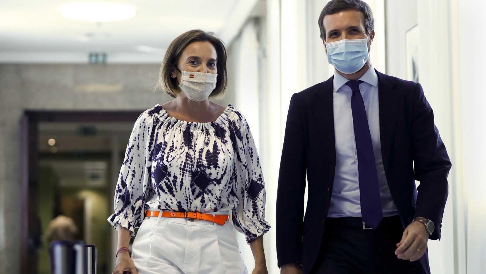 Casado reprocha a Sánchez que delegue en las autonomías la responsabilidad en la gestión de los rebrotes