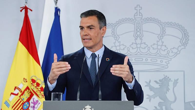 Sánchez descarta reformas legales y recuerda a las autonomías que pueden pedir el estado de alarma