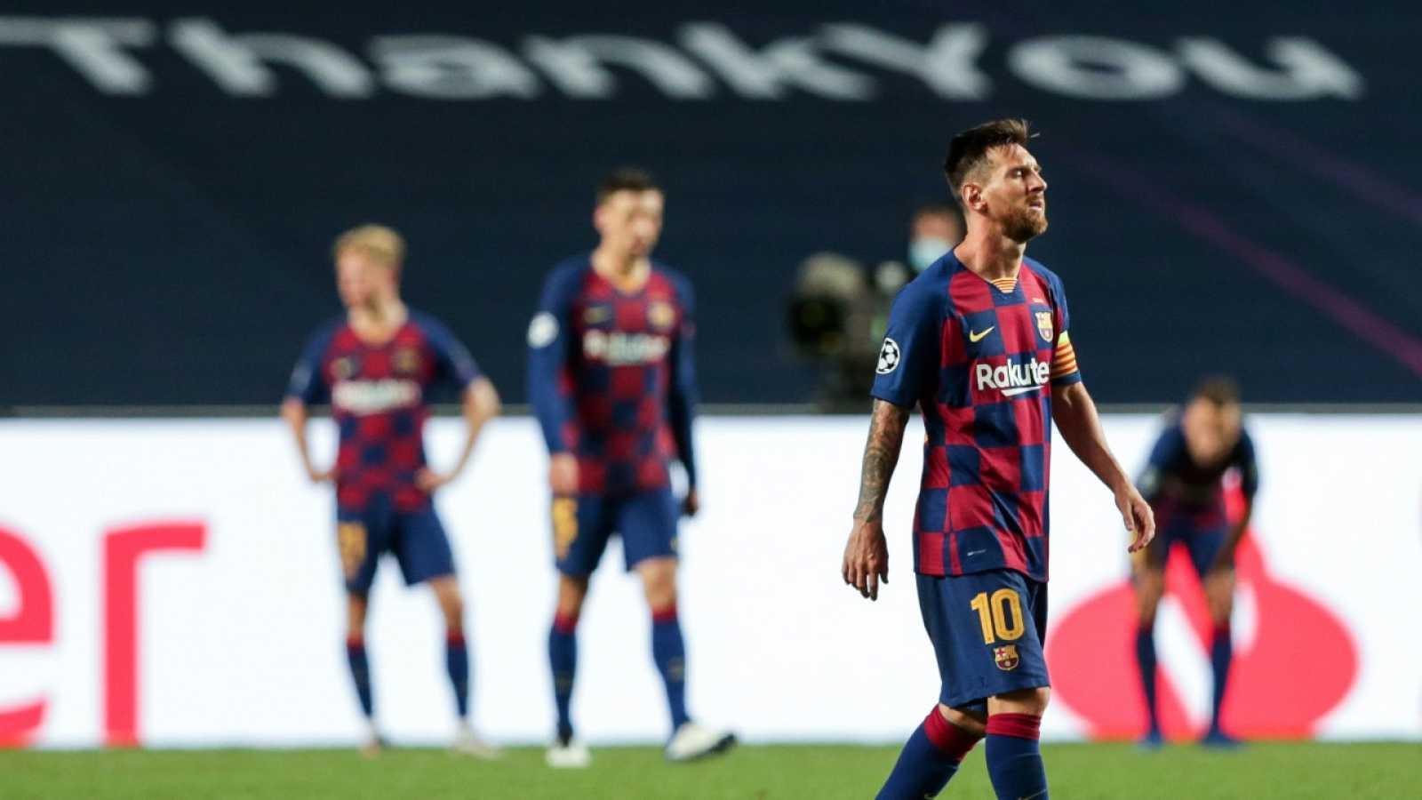 Messi anuncia al Barça que quiere irse del club