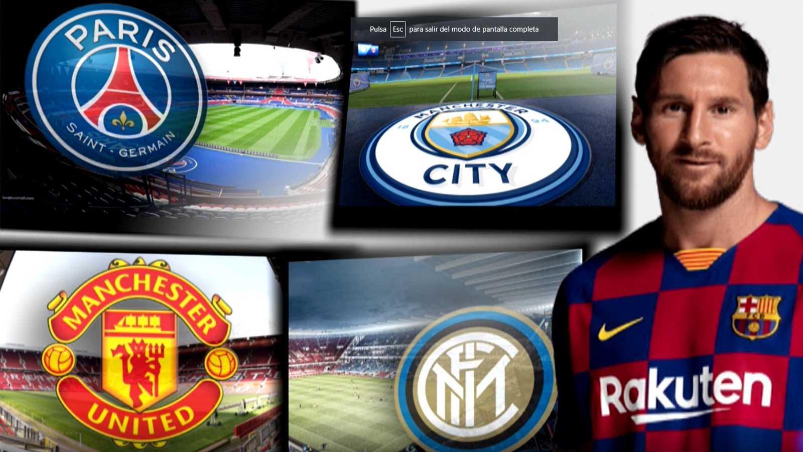 Los cinco posibles destinos de Messi