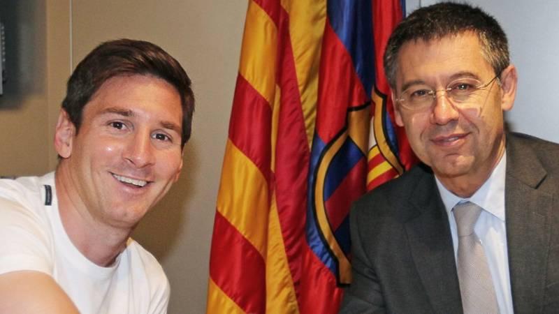 """Santiago Nebot, experto en derecho del fútbol, cree que la comunicación de Messi es una """"estrategia para negociar"""""""