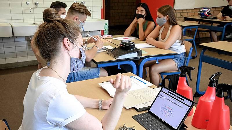El curso empezará con mascarilla obligatoria a partir de los 6 años y clases presenciales