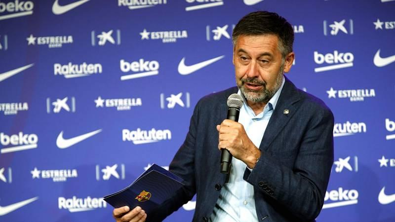 Bartomeu estaría dispuesto a dimitir a cambio de que Messi se quede