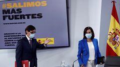 Especial informativo - Comparecencia del ministro de Sanidad y la ministra de Defensa - 28/08/20