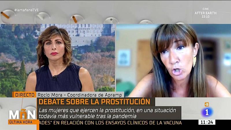 La Mañana - Las prostitutas exigen a la Ministra de Igualdad que puedan tener acceso al IMV