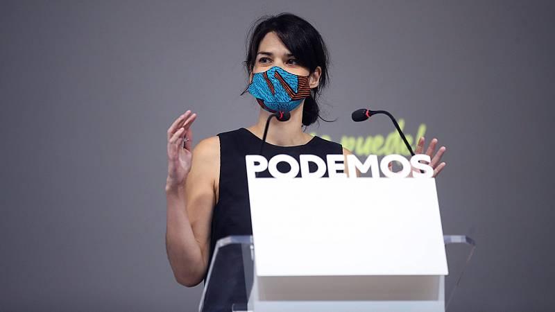 """Podemos advierte al PSOE de que no apoyará unos presupuestos con Cs: """"Que no cuenten con nosotros"""""""