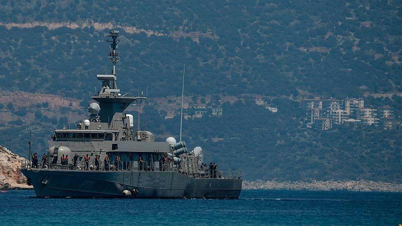 Grecia y Turquía inician maniobras militares en plena escalada de tensión por los yacimientos de gas del Mediterráneo