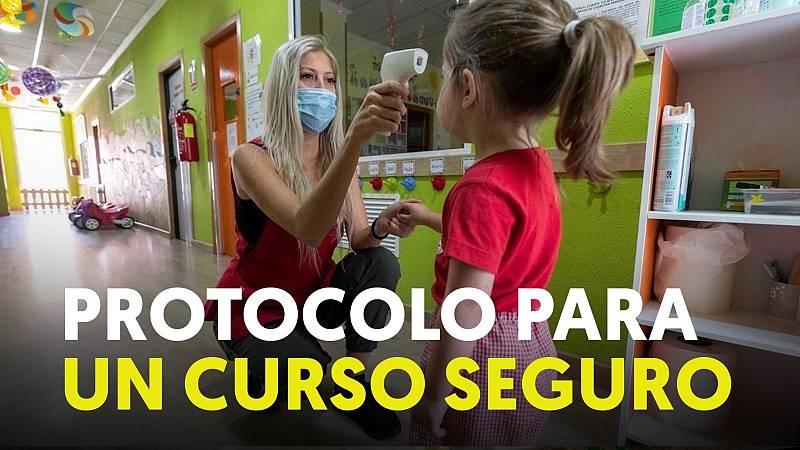 Protocolo para un curso seguro durante la pandemia de coronavirus