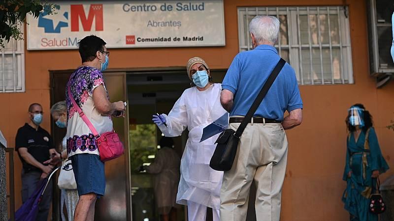 Los centros de salud se colapsan por la pandemia
