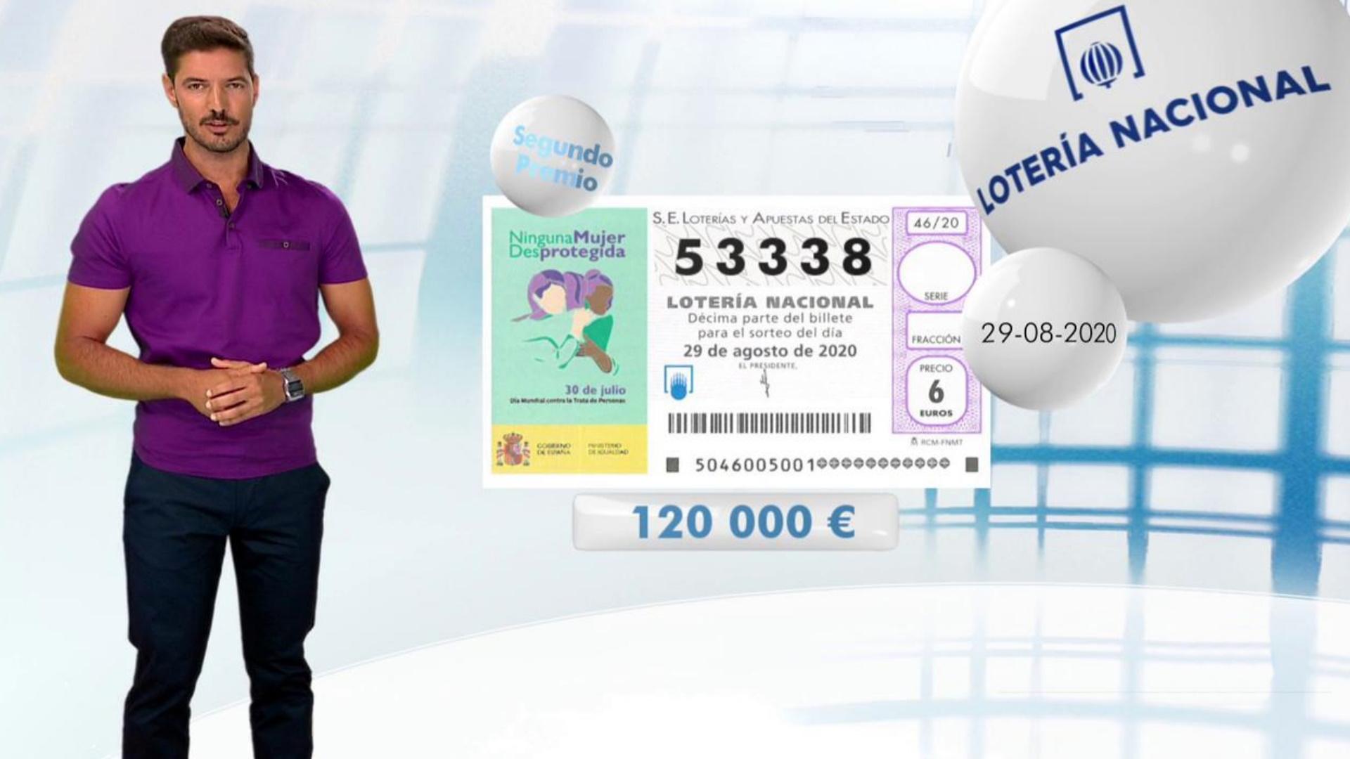 Lotería Nacional 29 08 20 Rtve Es