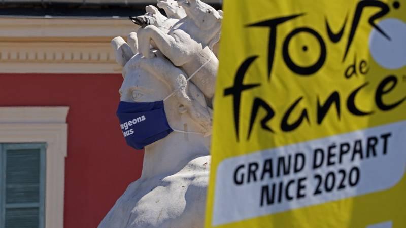 El Tour excluirá a los equipos con dos casos positivos por coronavirus, sean o no ciclistas