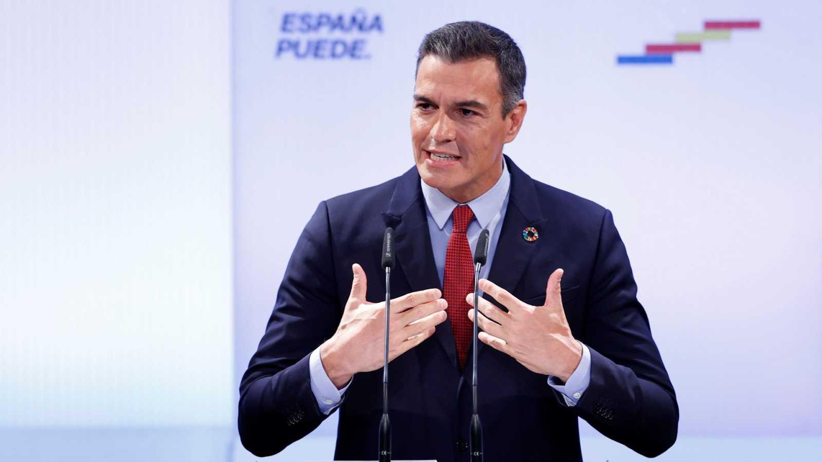 """Sánchez apela a la unidad para salir de la crisis: """"España debe entenderse con España"""""""