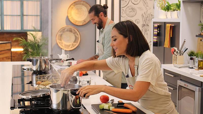 Cocina al punto con Peña y Tamara - Ternera Euskal Okela y queso Idiazábal - ver ahora
