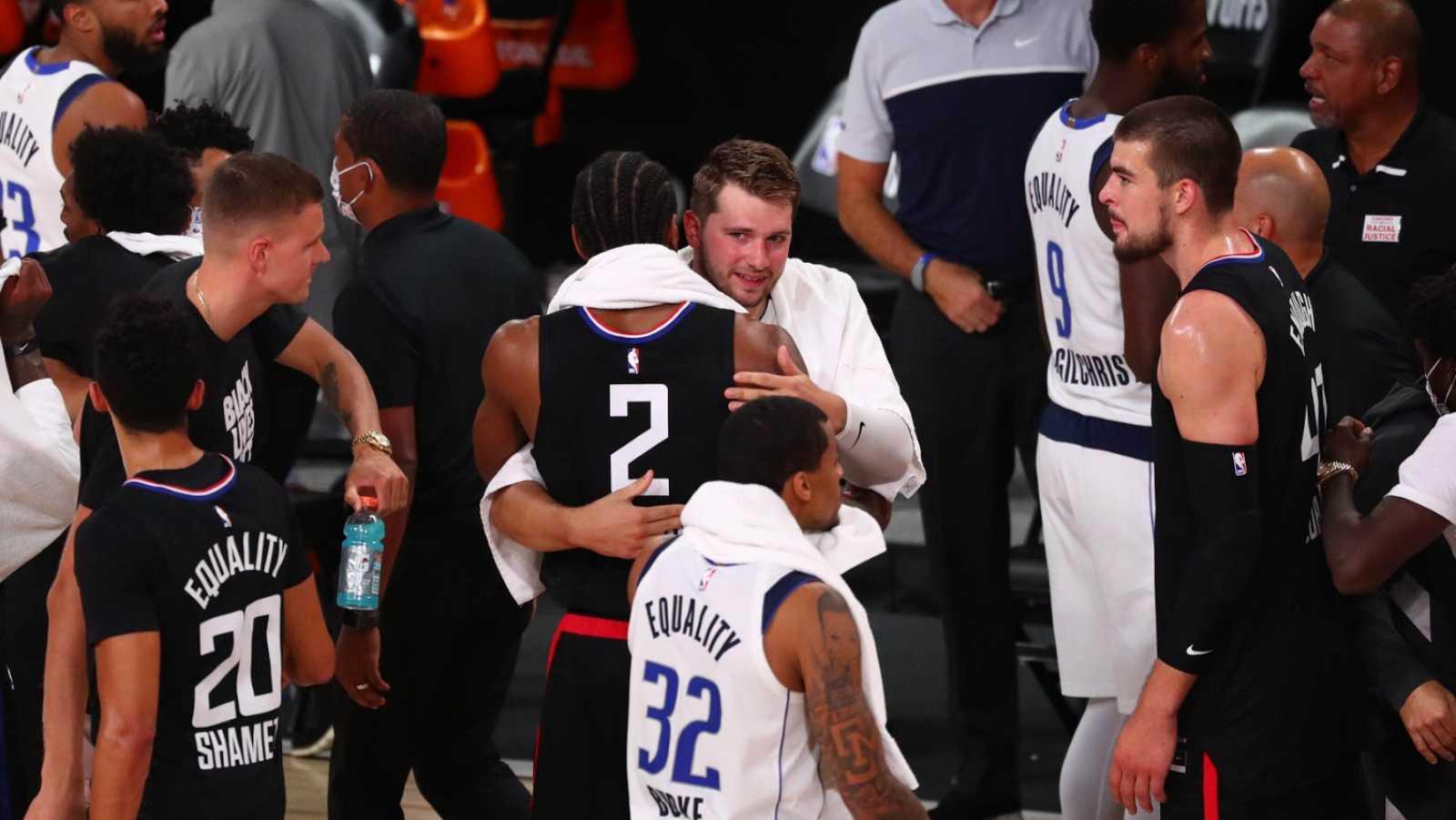 Doncic y los Mavericks se despiden los 'playoffs'