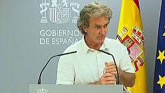 Especial informativo - Coronavirus. Comparecencia de Fernando Simón - 31/08/20