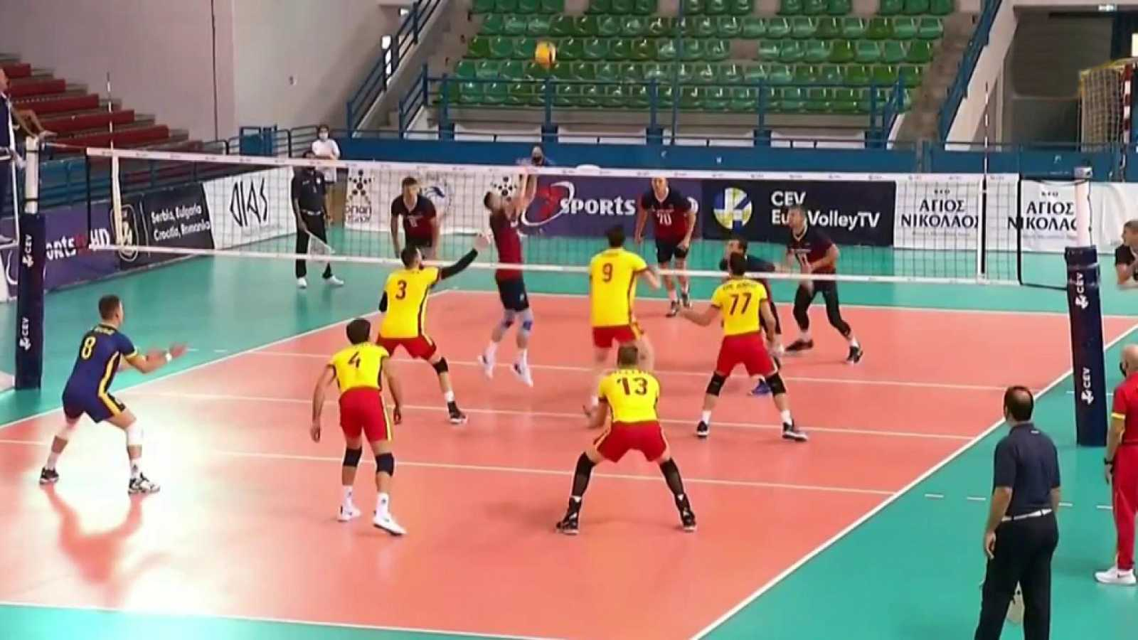 Voleibol - Clasificación Campeonato de Europa Masculino: Letonia - España - ver ahora