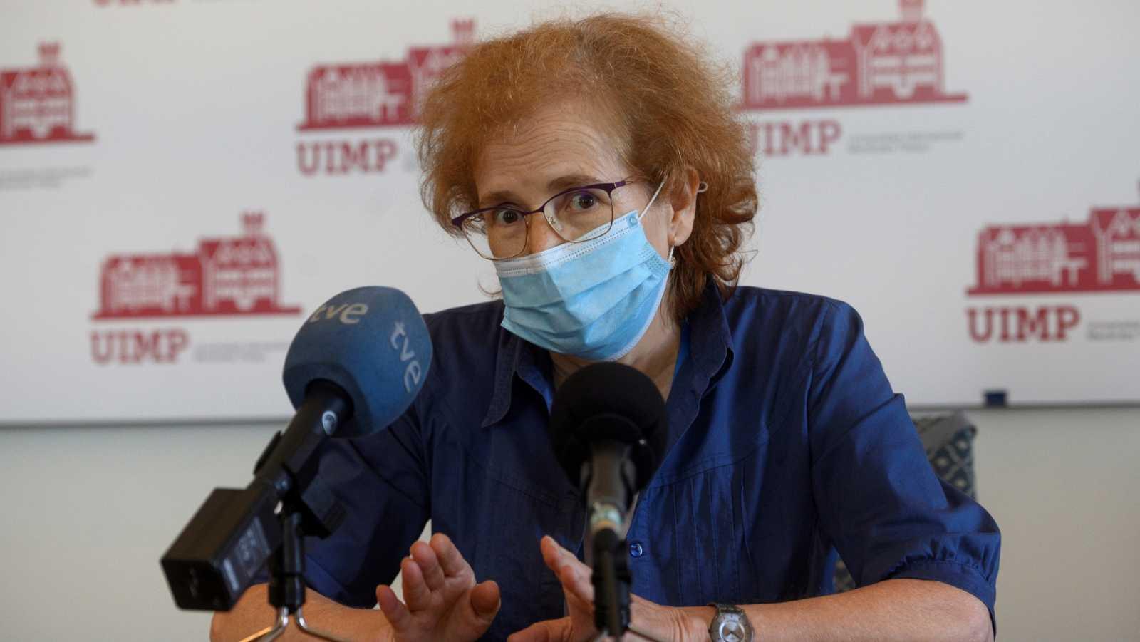 """La viróloga Margarita del Val recomienda """"una cuarentena de 14 días para cada uno de nosotros"""" en la vuelta al trabajo"""