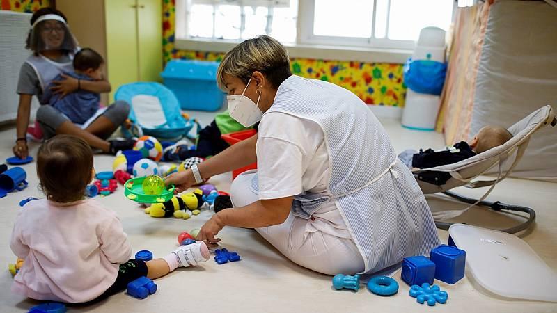 Vuelta a la guardería: normalidad ante la inquietud de la pandemia