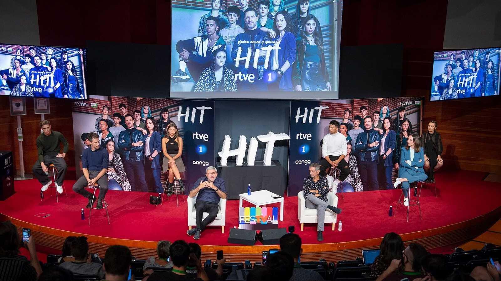 HIT - Rueda de prensa de 'HIT' en el FestVal de Vitoria