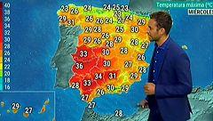Las temperaturas suben de manera generalizada y habrá probabilidad de chubascos en el Mediterráneo