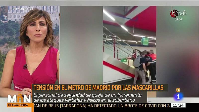 La Mañana - Enfrentamientos en el Metro de Madrid por las mascarillas