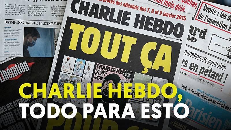 Charlie Hebdo, todo para esto
