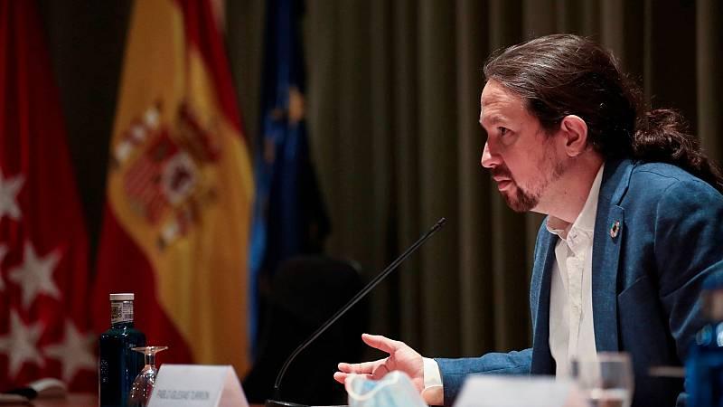Iglesias matiza a Montero y asegura que los padres de niños en cuarentena y PCR negativa podrán cobrar la baja