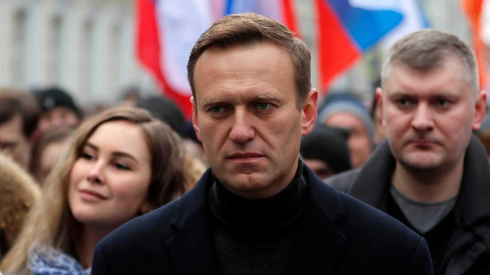 """Alemania halla """"pruebas inequívocas"""" de que Navalny fue envenenado en Rusia con un agente nervioso"""