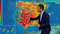 Cielos despejados, salvo en el área del Mediterráneo, y subida de temperaturas
