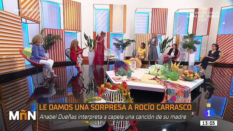 La Mañana - Así ha sido la sorpresa a Rocío Carrasco