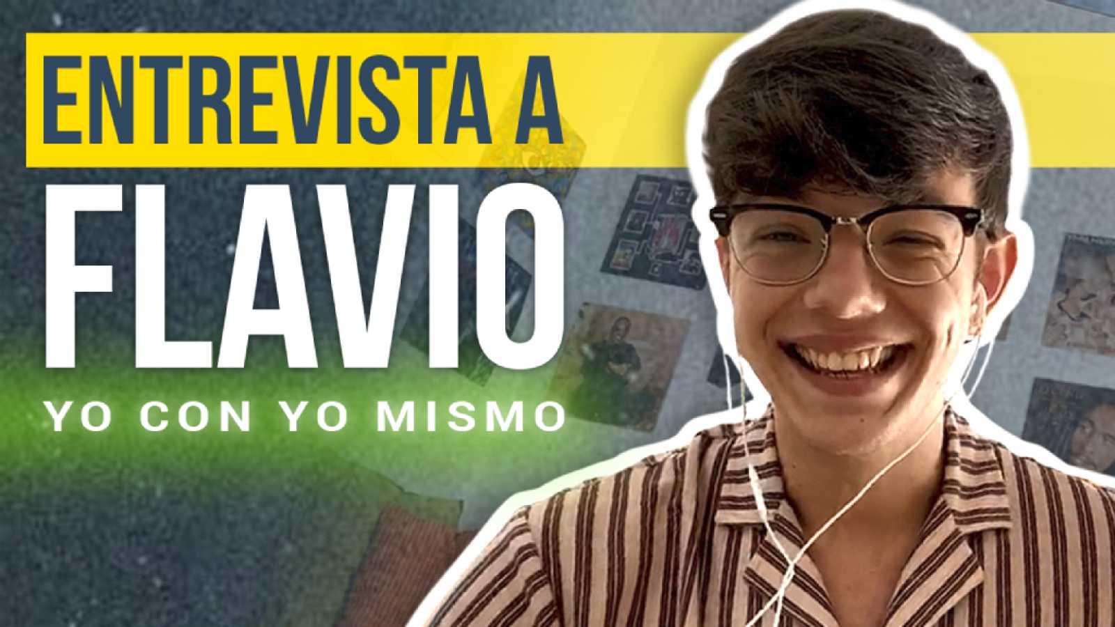 """Flavio (OT 2020) sobre """"Yo con yo mismo"""": """"Estoy convencido de que mucha gente se ha identificado con ella"""""""