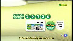 Sorteo ONCE - 03/09/20